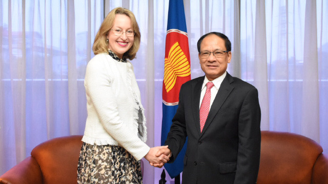 Jane Duke and ASEAN Secretary General