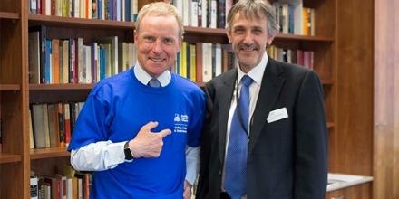 Lt. Gen. (Ret'd) David Morrison AO with College Dean Professor Paul Pickering