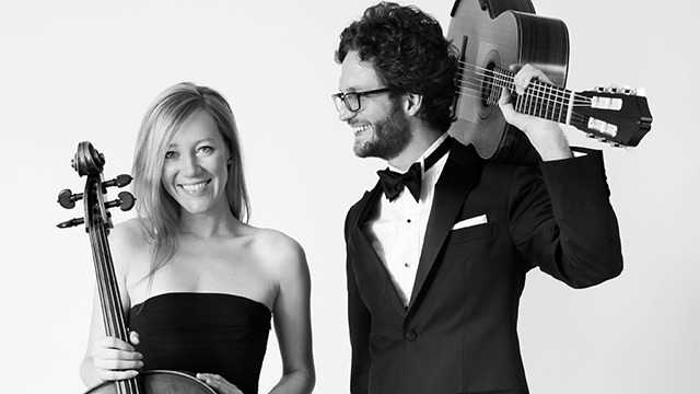 Laura Metcalf and Rupert Boyd. Image:Harold Levine
