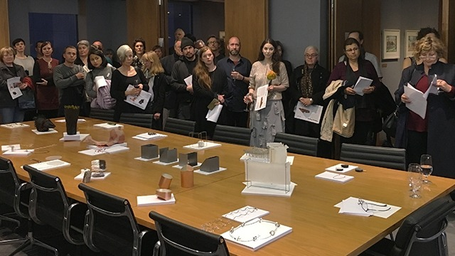 Guests at the launch of Talking Points at ANU House, Melbourne. Image: Jieh-Yung Lo