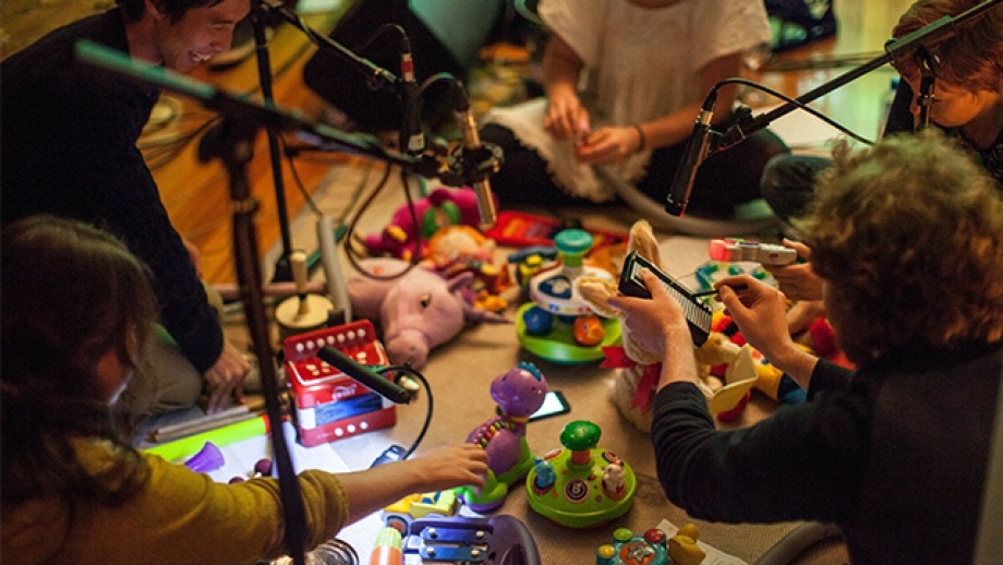 ANU Experimental Music Studio event at the 2015 You Are Here Festival. Photo by Adam Thomas.