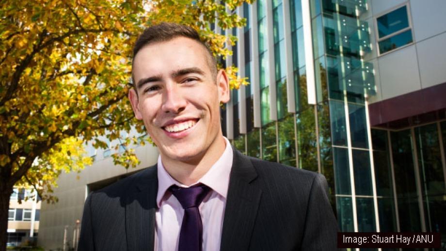 Jordan Kerr by Stuart Hay, ANU