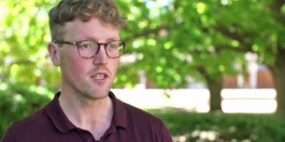 Sam Davies, Bachelor of International Relations graduate